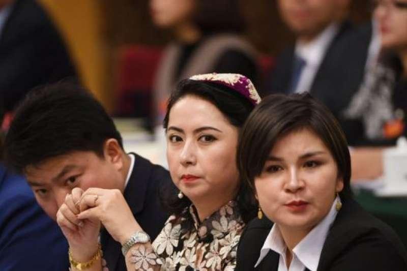 兩會新疆代表。(BBC中文網)