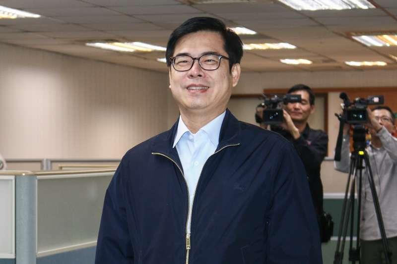 韓國瑜拋帶職「假日參選」說 陳其邁酸:當總統也是假日總統嗎?-風傳媒