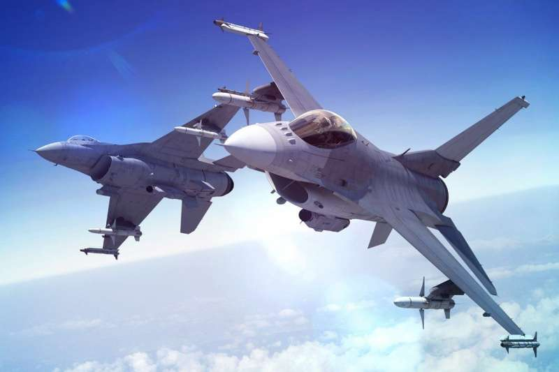 美國國務院批准對台5億美元的軍售案,國防部表示感謝。圖為F-16V戰機。(資料照,翻攝自Lockheed Martin官網)