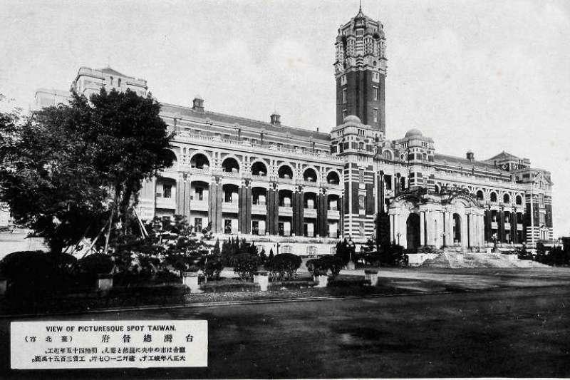 日本時代建造的台灣總督府今年過百歲生日。(總統府提供)