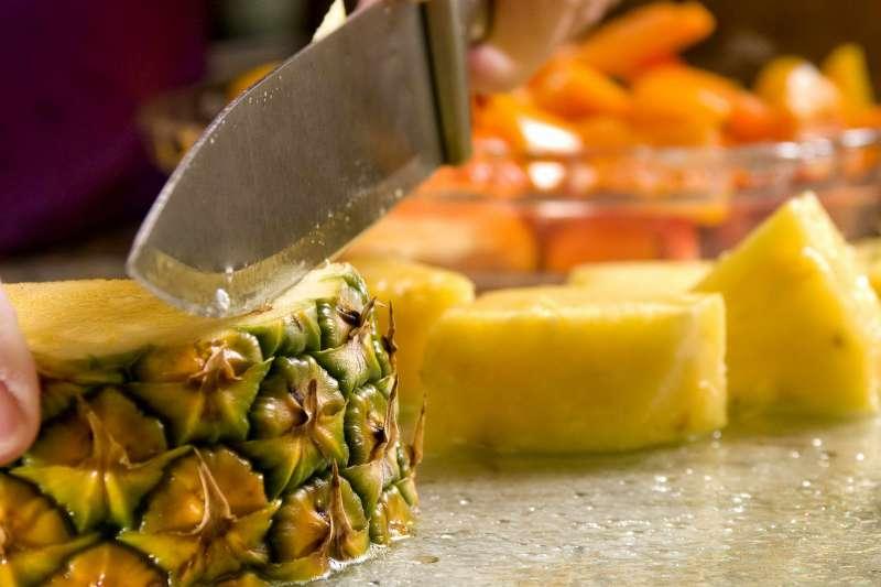 這三招!教你挑選最好吃的鳳梨!(圖/Pixinio)