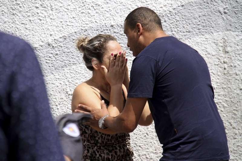 巴西聖保羅州蘇札諾市發生小學校園槍擊案,包括凶手至少8人死亡(AP)