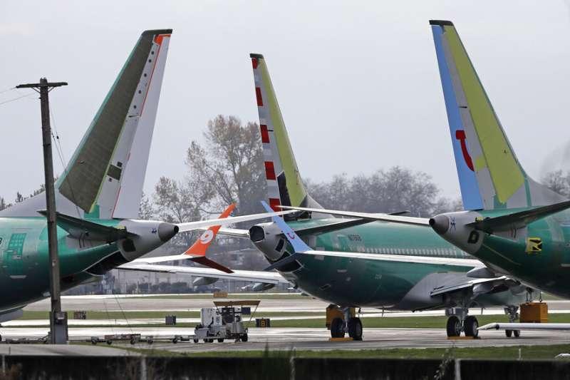 波音737 MAX 8。(美聯社)