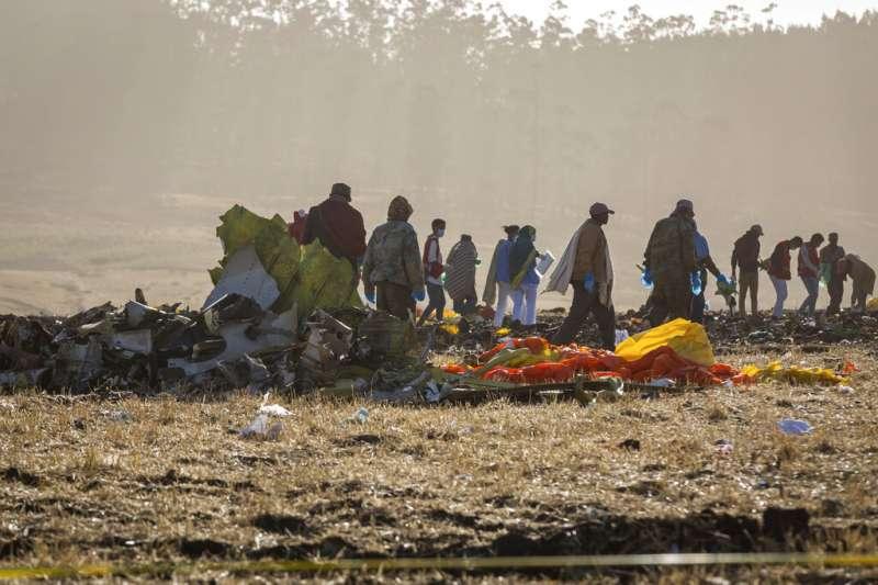 衣索比亞航空空難,讓各界再次對波音737 MAX 8的安全性產生疑慮。(美聯社)