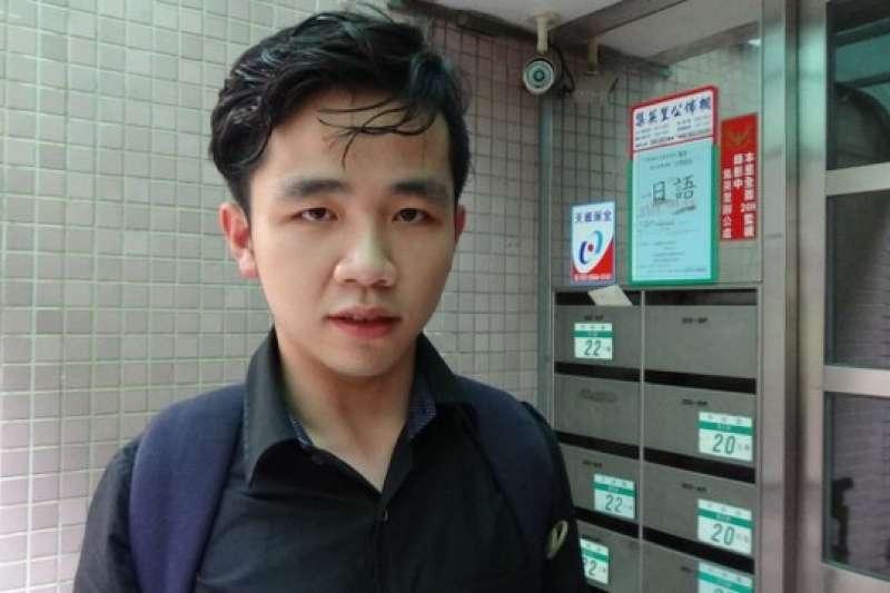 大陸學生李家寶在台灣直播「我反對」習近平的言論後,接受自由亞洲電台採訪表示受到極大壓力。(自由亞洲電台)