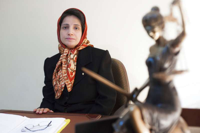 伊朗知名人權律師索圖德(AP)