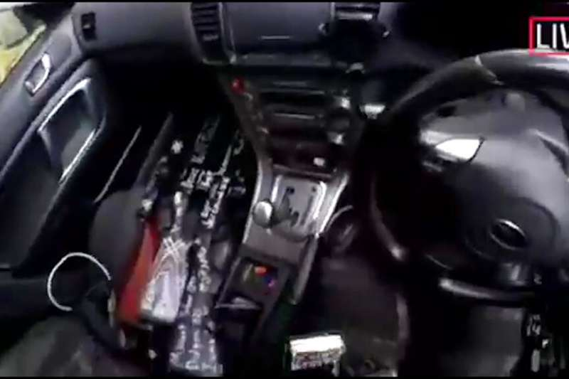 紐西蘭基督城15日發生大規模槍擊事件,圖為槍手公布行兇影片畫面。(美聯社)