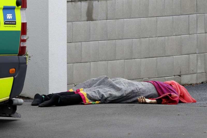 紐西蘭基督城15日發生大規模槍擊事件。(美聯社)