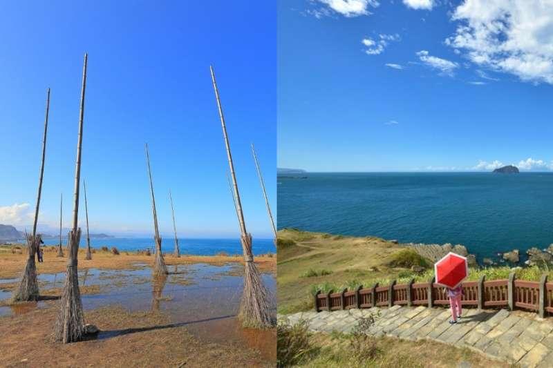 潮境公園(左)、忘憂谷步道(右)。(女子學提供)