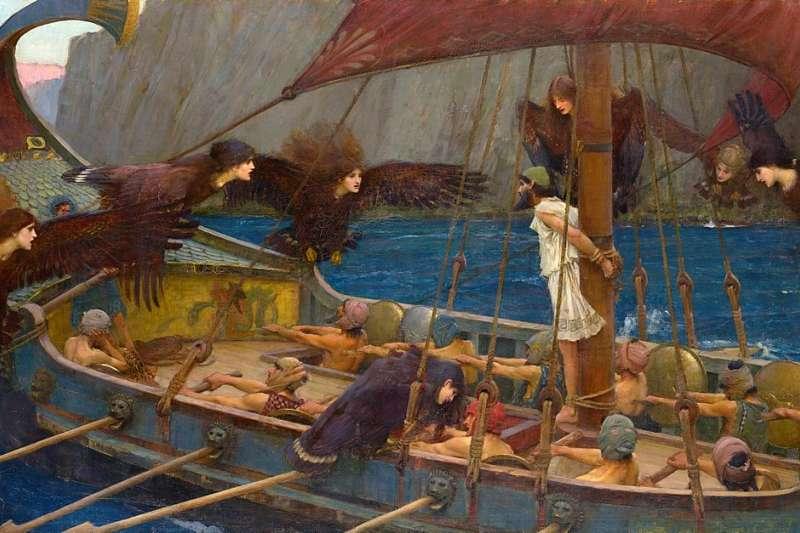 你可能不知道,其實許多的英文單字,都源自於這些精采豐富的希臘神話。(圖片取自維基百科)