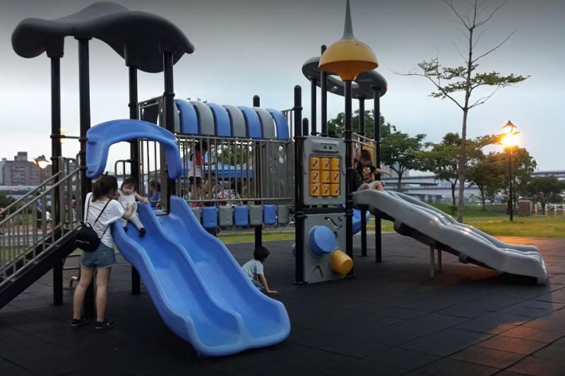 20190315-新北市陽光運動公園遊樂設施。圖為示意圖,非關當事人。(擷取自GOOGLE MAP)