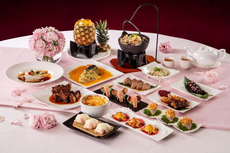 桃園福容飯店春季新菜用在地食材跟創意料理,滿足消費者的胃。(圖/桃園福容飯店提供)