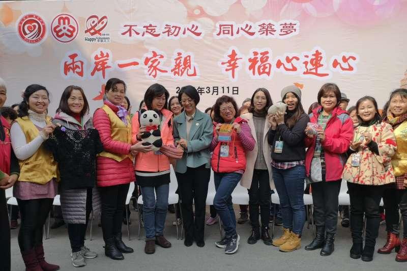 20190315-新北市議員陳儀君帶著「新女性協進會」與「石碇區婦女會」的姊妹造訪了江蘇無錫。(取自陳儀君臉書)