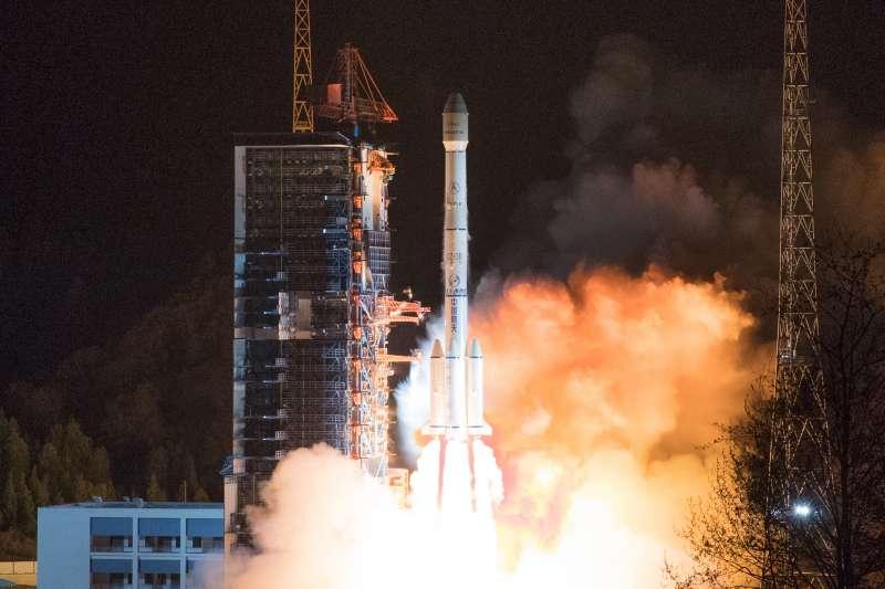 2019年3月10日,中國在西昌衛星發射中心用長征三號乙運載火箭,成功將中星6C衛星發射升空。(新華社)