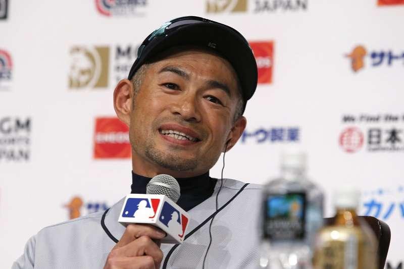 鈴木一朗表示自己還不知道什麼時候會退休。(美聯社)