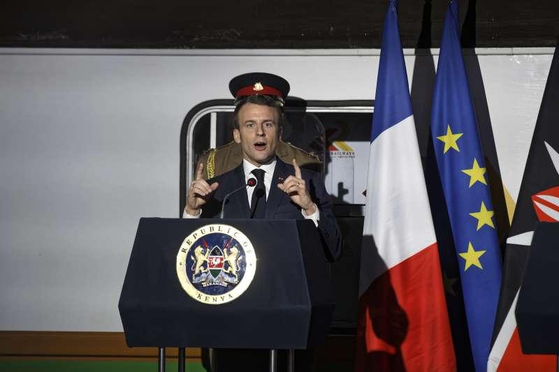 法國總統馬克宏訪問非洲之角3國(AP)