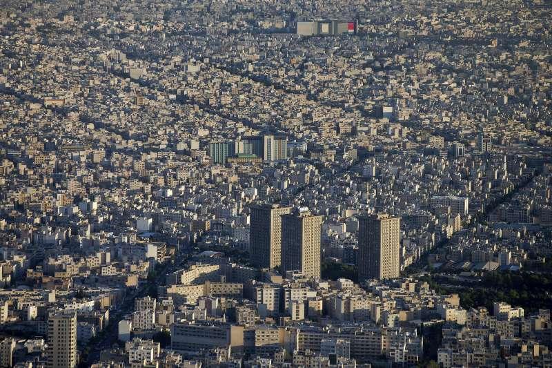 伊朗首都德黑蘭。(美聯社)