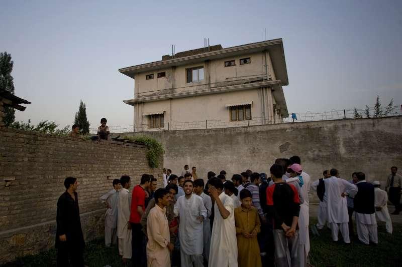 賓拉登位於巴基斯坦的藏身處,也是2011年他被擊斃的所在之處。(美聯社)