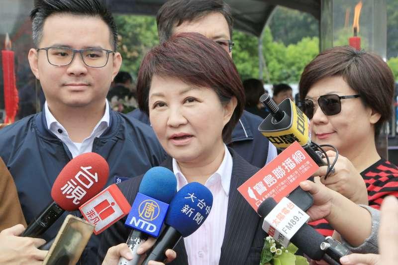 中火降載量不減反增,台中市長盧秀燕抗議並籲中央優先中部降載。(台中市政府提供)