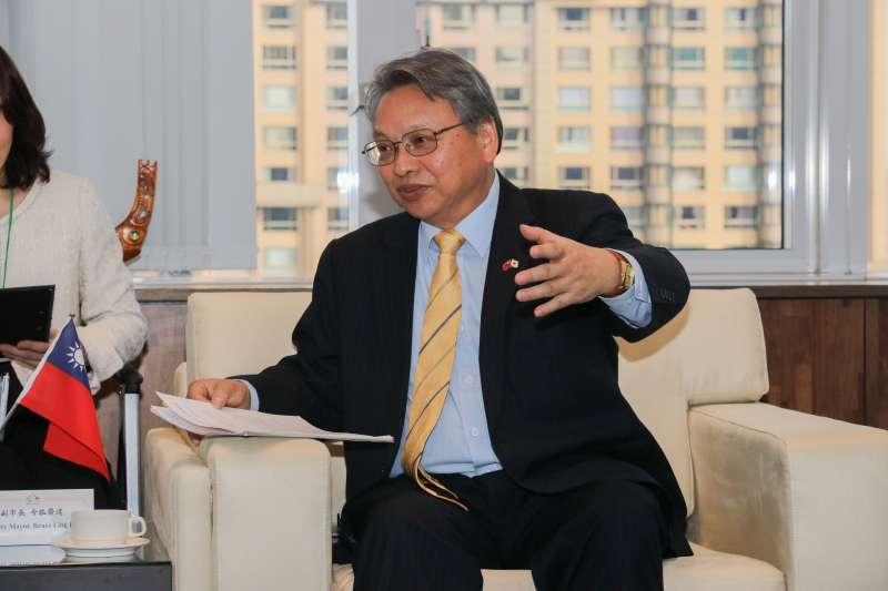 台中市副市長令狐榮達18日晚間至23日,將率團赴中國大陸參訪及交流。(圖/臺中市政府提供)