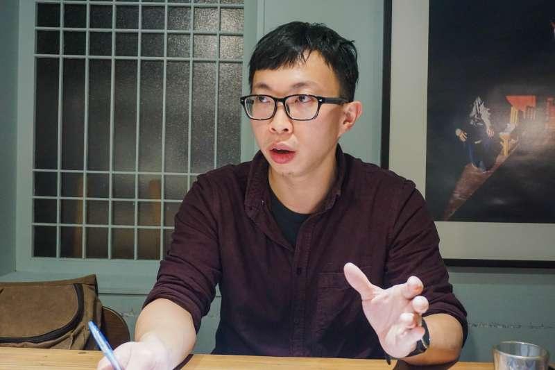 魏揚,曾參與野草莓學運、反國光石化、反媒體壟斷等社會運動,並組織發起黑色島國青年陣線。(臺灣青年民主協會提供)