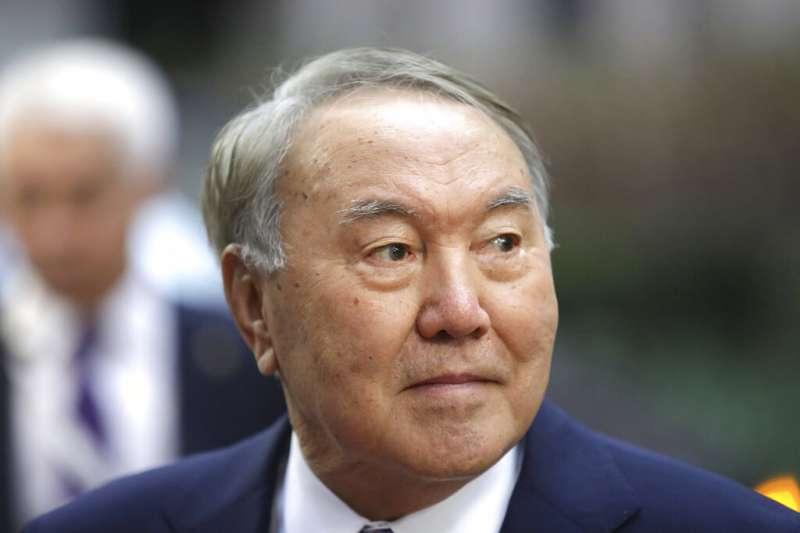 哈薩克總統納扎爾巴耶夫(Nursultan Nazarbayev)。(AP)
