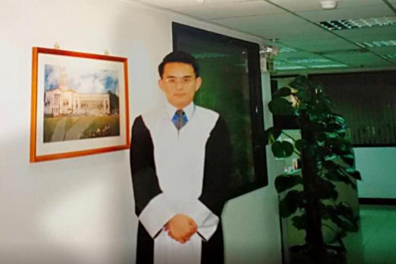 20190319-台灣創新法律協會理事長簡榮宗投入汐止區立委,畢業後任律師已20餘年。(取自簡榮宗臉書)