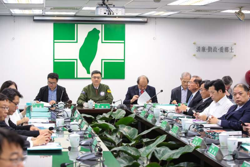 20190320-民進黨主席卓榮泰20日主持民進黨中常會。(顏麟宇攝)