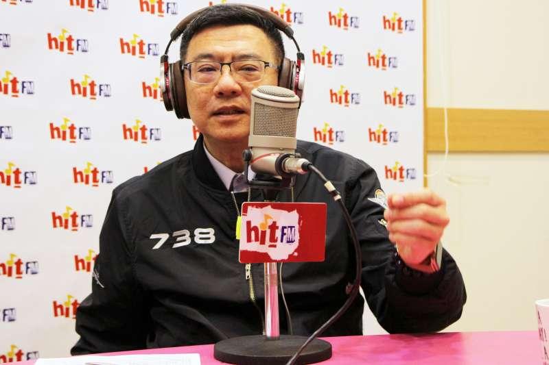 民進黨主席卓榮泰20日接受廣播節目專訪,談及民進黨總統初選情勢。「Hit Fm《周玉蔻嗆新聞》製作單位提供」