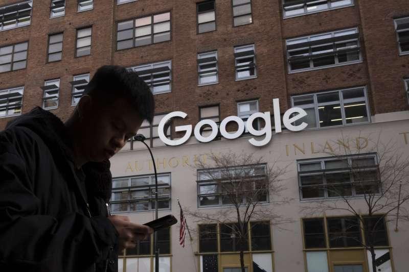 全球網路科技業與廣告業鉅子Google(AP)