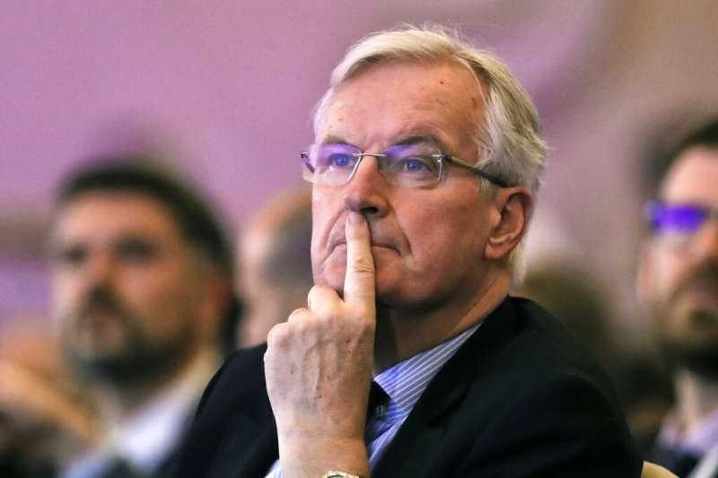 與英國談判脫歐事務的首席代表巴尼爾。(美聯社)