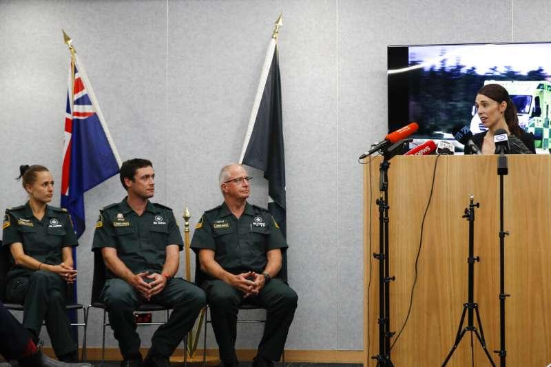 紐西蘭總理雅頓。(AP)
