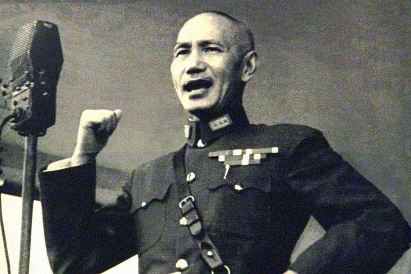 二二八事件發生初期,蔣介石(見圖)因為忙於華北內戰,並沒有對事件十分重視,也沒有將它看作為共匪叛亂。(圖/維基百科)