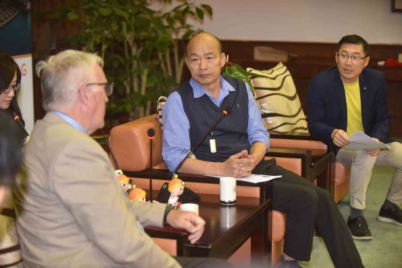 20190321-高雄市長韓國瑜表示,將全力協助國際自由車頂級賽事於高雄舉行。(高雄市府提供)