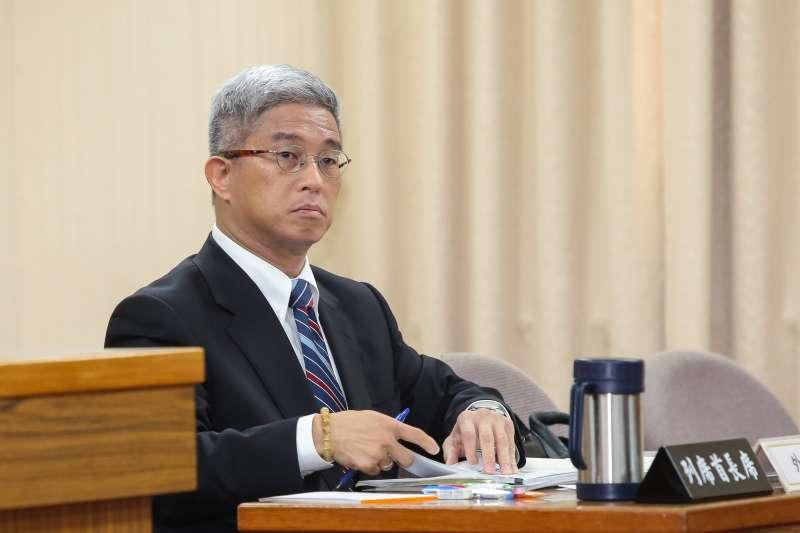 20190321-外交部次長徐斯儉21日出席立院外交國防委員會。(顏麟宇攝)