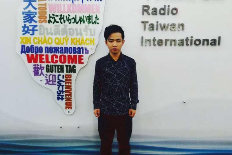 來到台灣,讓李家寶呼吸到過往不曾感受的自由空氣。(李家寶提供)