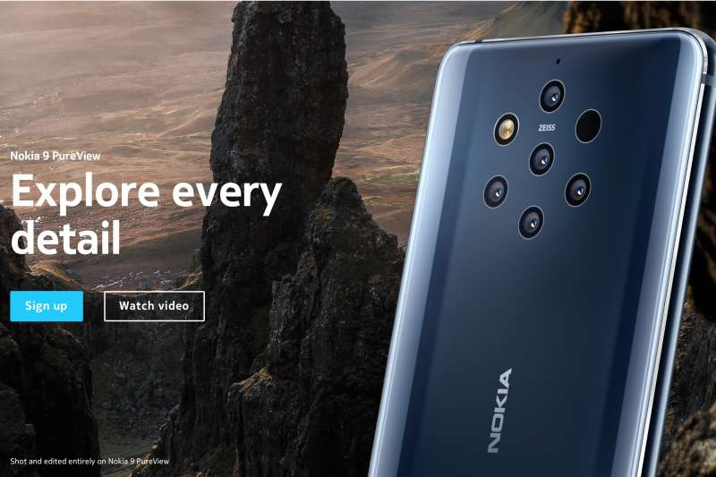 Nokia 9。(Nokia官網)