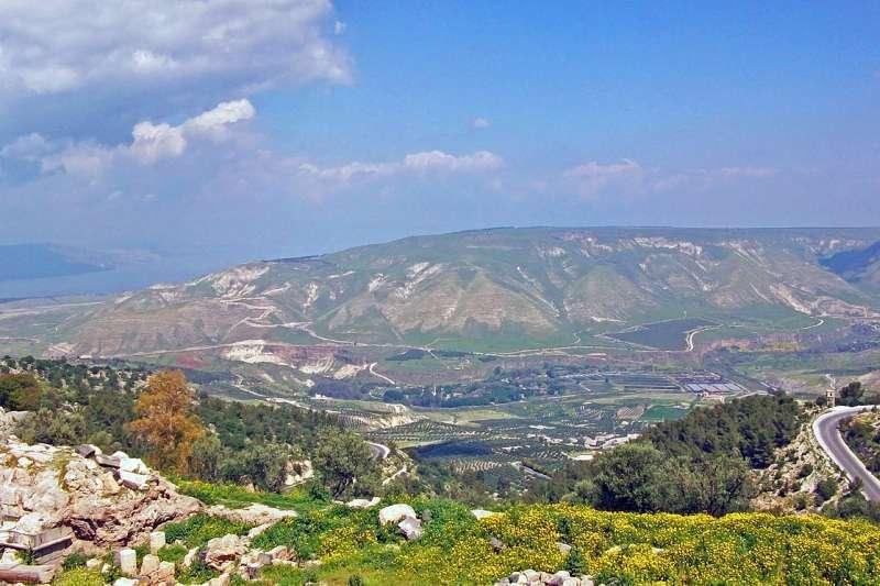 位於以色列與敘利亞交界的戈蘭高地(Golan Heights)(Daniel Case@Wikipedia / CC BY-SA 3.0)