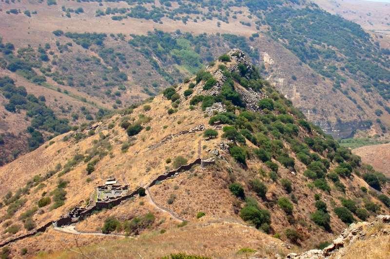 位於以色列與敘利亞交界的戈蘭高地(Golan Heights)(Wikipedia / Public Domain)