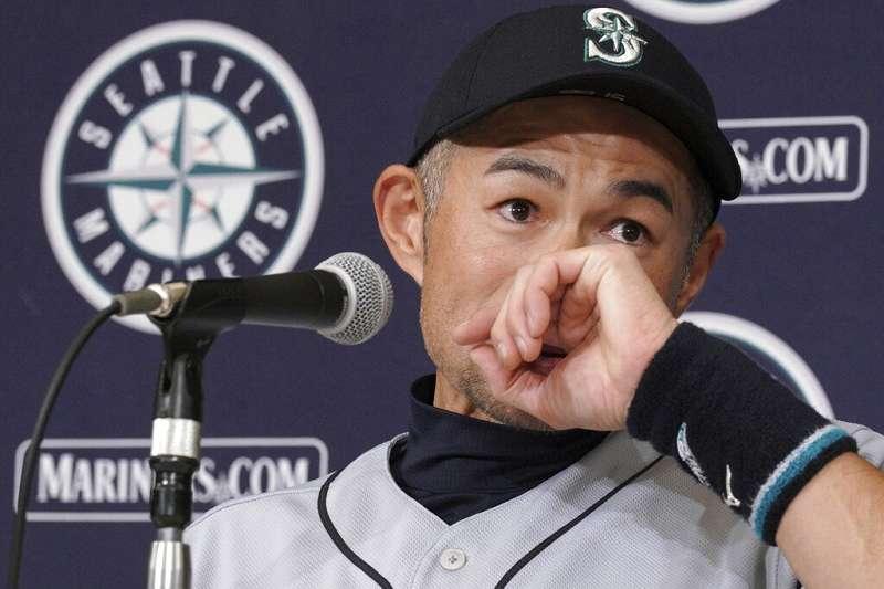 鈴木一朗感謝老婆於水手主場出賽前,都會親手捏製飯糰。(美聯社)