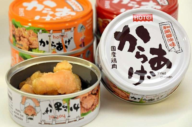 HOTEI FOODS CORPORATION開發的「炸雞塊罐頭」(圖/潮日本提供)
