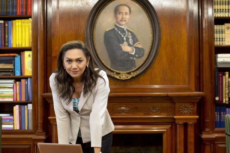 泰國首位變性總理候選人寶琳(AP)