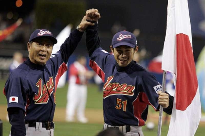 王貞治(左)和鈴木一朗是日本棒球培養出來,讓世界球迷都尊敬的典範。(美聯社)