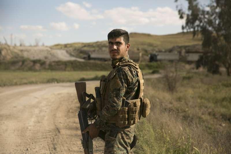 2019年3月22日,敘利亞庫德族「敘利亞民主軍」在美軍協助之下,收復伊斯蘭國的最後據點(AP)