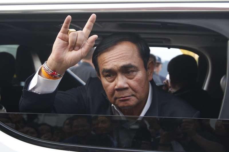 軍人出身、政變上台的泰國現任總理帕拉育(Prayuth Chan-ocha)。(美聯社)