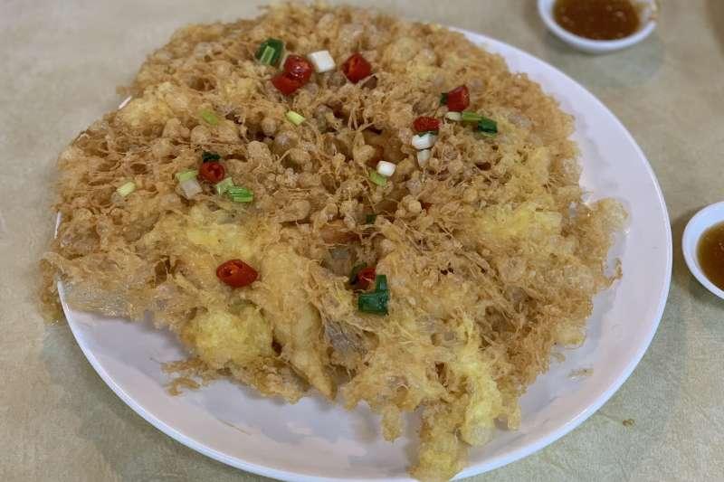 台波美食外交:台灣名廚溫國智做的蜂巢蝦(簡恒宇)