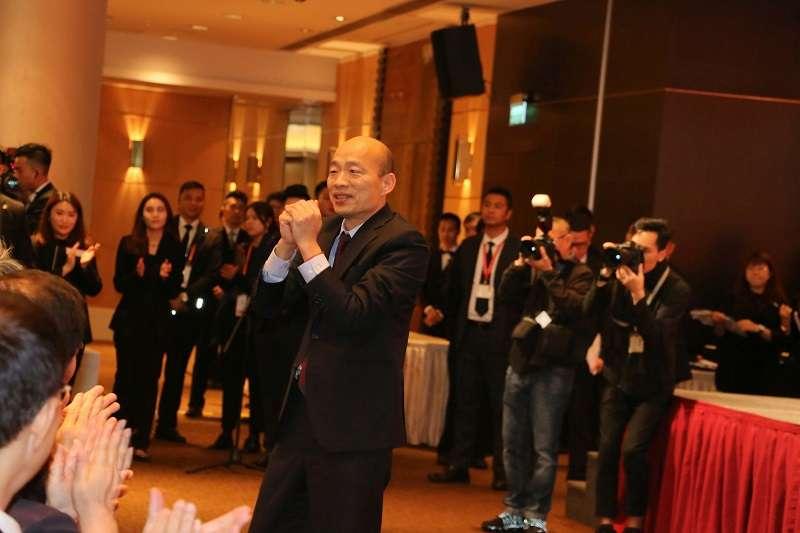 高雄市長韓國瑜訪港澳,簽下數十億農產品訂單。(高雄市政府提供)