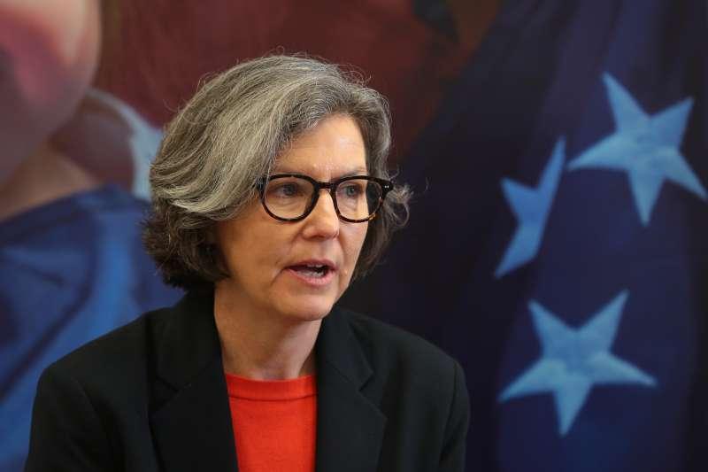 20190325-美國威斯康辛無辜計畫共同執行長凱莉史柏林專訪。(顏麟宇攝)