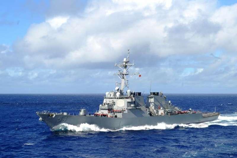 美國海軍飛彈驅逐艦「柯蒂斯.威爾伯號」(USS Curtis Wilbur)(USS Curtis Wilbur FB)