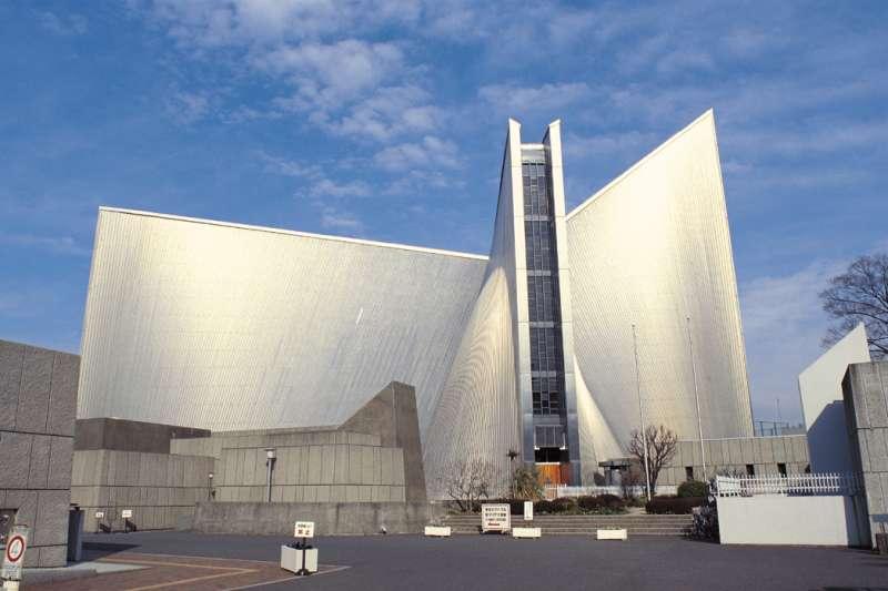 20190326-位於東京都文京區關口的聖馬利亞大教堂。(李清志攝)